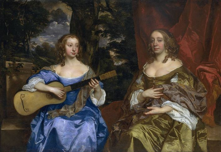 Two Ladies Of The Lake Family Peter Lelly