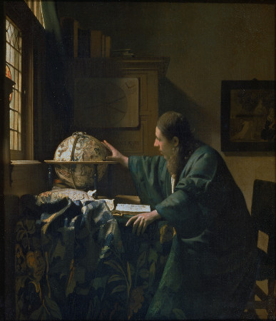 The Astronomer, Johannes Vermeer