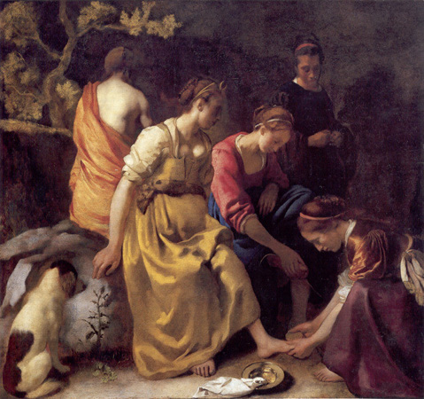 Diana and her Companions, Johannes Vermeer