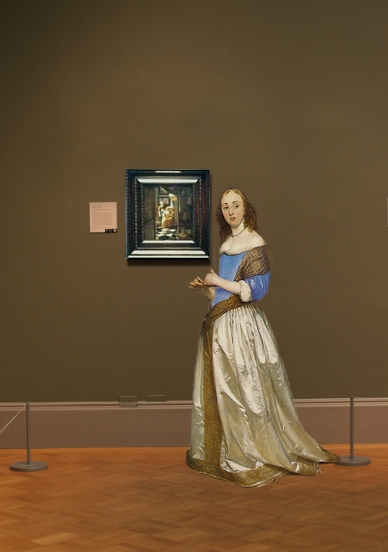 Johannes Vermeer's Love Letter in scale