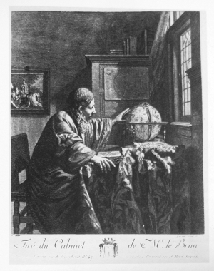 The Astronomer, Louis Garreau, after Vermeer