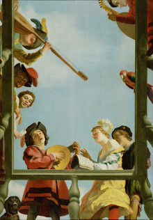 Musical Group on a Balcony, Gerrit van Honthorst