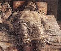 The Lamentation over the Dead Christ, Mantegna