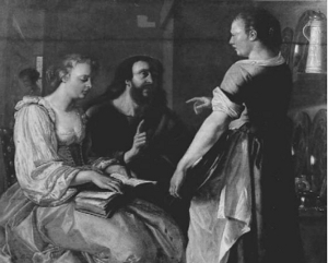 Christiaen van Couwenbergh, Christ in the House of Martha and Mary