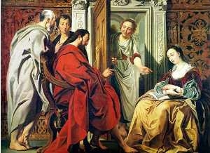 Christ in the House of Martha and Mary of Bethany, Jacob Jordaens