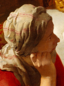 Christ in the House of Martha and Mary (detail), Johannes Vermeer