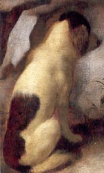 Diana and her Companions (detail), Johannes Vermeer