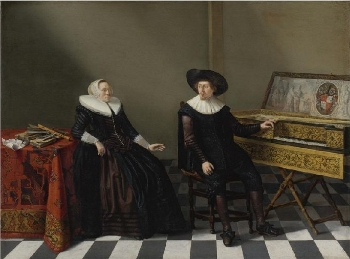 Husband and Wife of the Lossy de Warine Family, Gerrit Donck