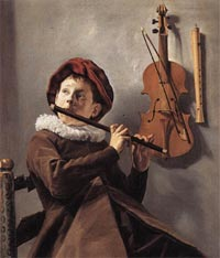 Young Flute Player, Judith Leyster