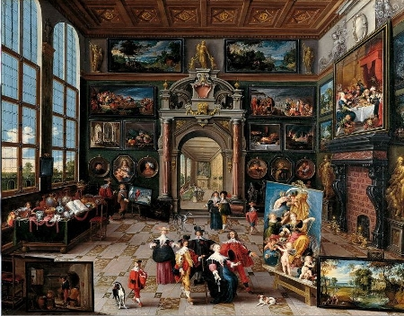Collector's Gallery, Frans Francken the Younger