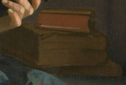 The Guitar Player (detail), Johannes Vermeer