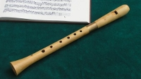 Soprano recorder in c, after the transitional instrument by Richard Haka