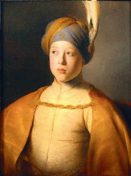 Boy in a Cape and Turban, Jan Lievens