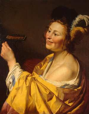 The Lute Player, Gerrit van Honthorst