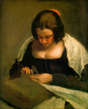 The Needlewoman, Diego Velasquez