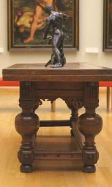 17th-century oak table