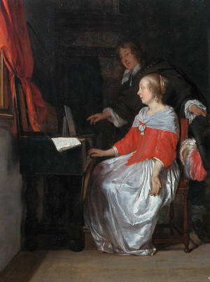 The Music Lesson, Gabriel Metsu