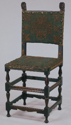 Spanish chair, Rijksmuseum