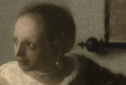 Woman with a Lute (detail), Johannes Vermeer