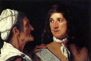 Young Man and the Procuress, Michiel Sweerts