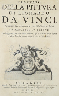 Cover of Leonardo da Vinci's Treatise on Painting