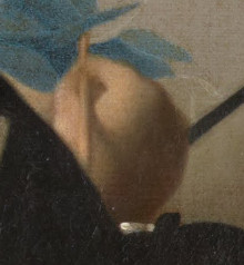 Study of a Young Woman (detail), Johannes Vermeer
