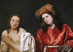 Clothing the Naked, Michael Sweerts