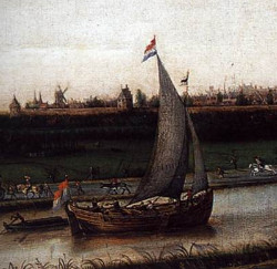 The view of delft by johannes vermeer a guided art for Biographie de vermeer