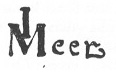 Signature of Vermeer's Geographer