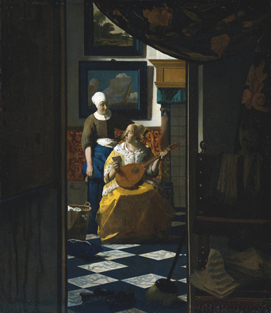 Reconstructions of Vermeer's Rooms