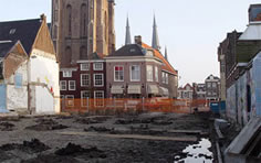 modern site of the Guild of St. Luke in Delft