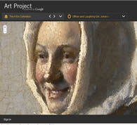 Google Art Project web page