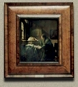 The Astronomer, Johannes Vermeer  (in scale)