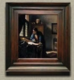 The Geographer, Johannes Vermeer (in scale)