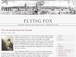 Flying Fox, Vermeer Blog