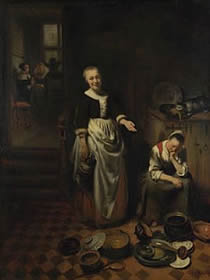 The Idle Servant, Niconaes Maes
