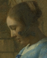 Vermeer's Woman in Blue Reading a Letter to be restored