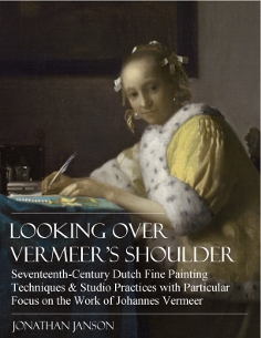 Lokking Over Vermeer's Shoulder, by Jonathan Janson