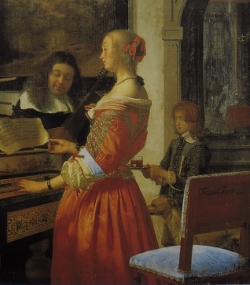 Frans van Mieris, The Duet