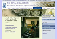 Royal Collection home page