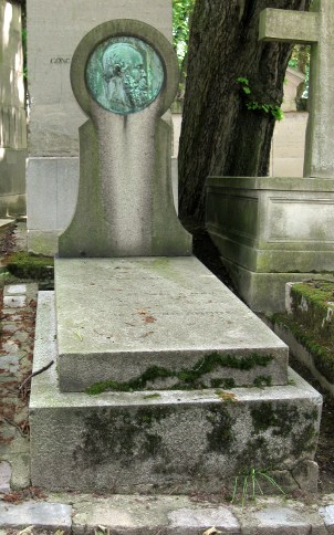 Thoré-Bürger's tomb in the Cimetière du Père-Lachaise, Paris
