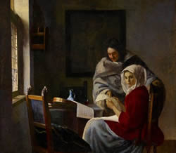 Girl Interrupted in her Music, Johannes Vermeer