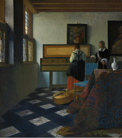 The Music Lesson, Johannes Vermeer