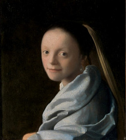 Study of a Young Woman, Johannes Vermeer