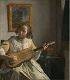 The Guitar Player, Johannes Vermeer