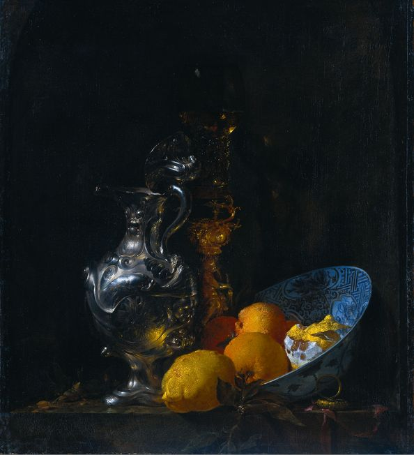 Masters Still Life Paintings With Glass