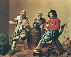 Traditional Music and Dances in the Time of Vermeer