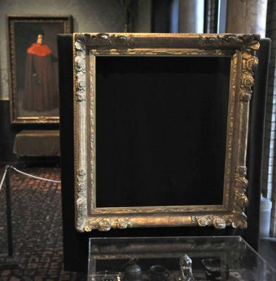 The frame of Vermeer's Concert