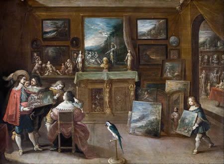 glossary of art terms a to the art dealer frans francken the younger