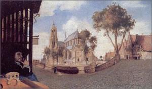 View of Delft  Carel F...